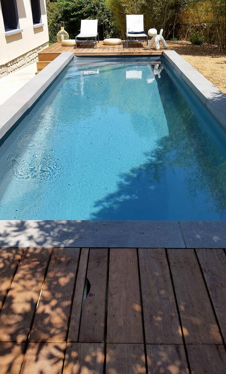 Concr tisation d 39 un projet d 39 une piscine m gris for Projet piscine