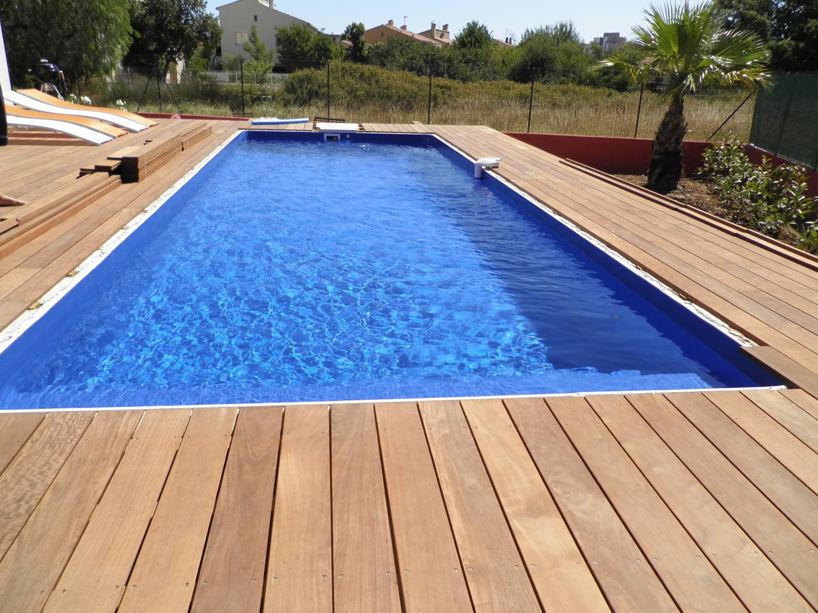 Piscine 8x4 m bleu france jce piscines for Piscine 8x4