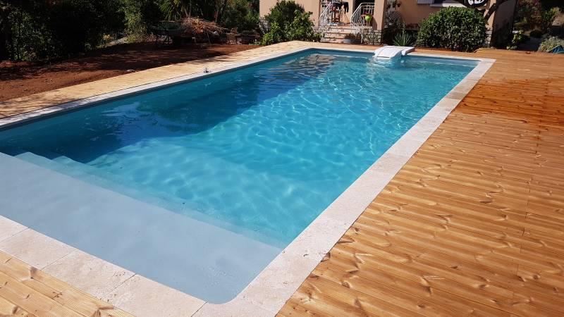R alisations de piscines et de spas sur mesure six fours var jce piscines for Piscine bois 9x4